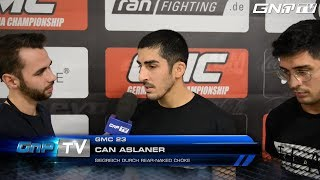 Can Aslaner im Interview nach GMC 23