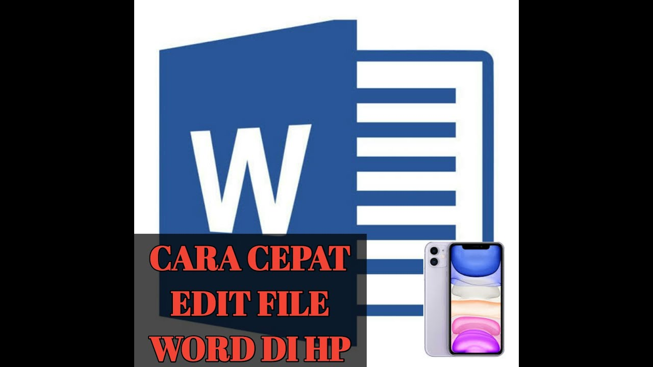 Cara Mengedit file Microsoft Word di Android - YouTube