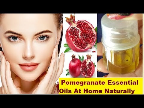 how-to-make-pomegranate-essential-oils-at-home-naturally-100%