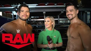 Carrillo & Garza are proud to represent their family: Raw Exclusive, Sept. 20, 2021