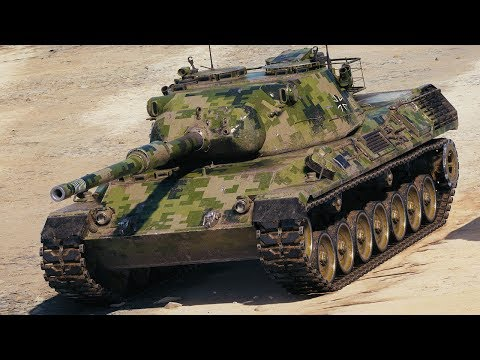 World of Tanks Leopard 1 - 5 Kills 9K Damage thumbnail