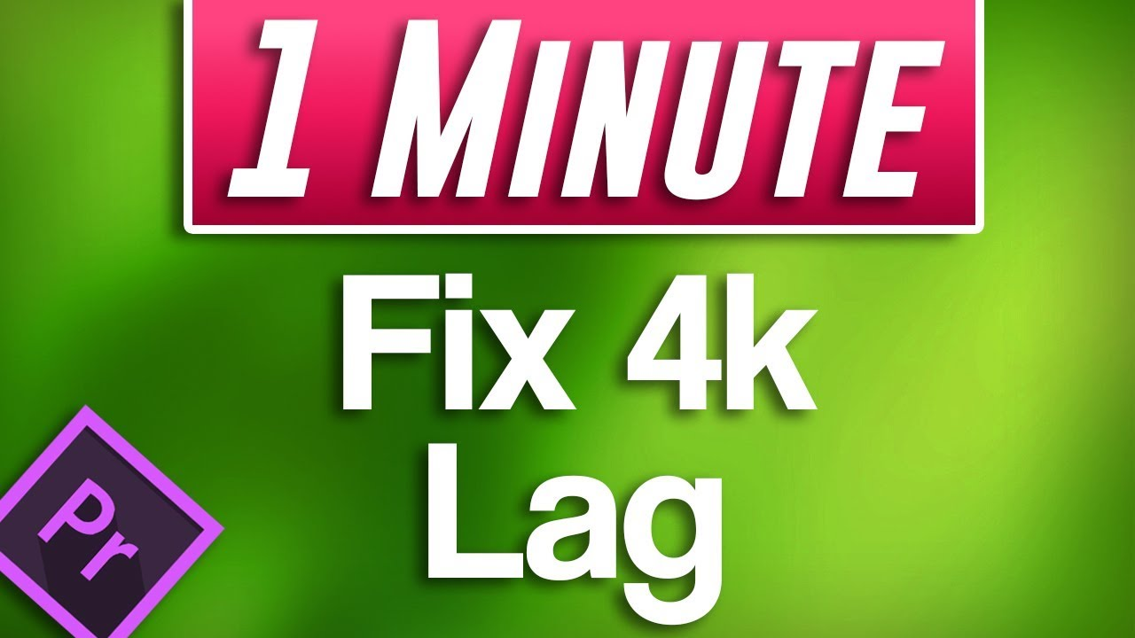Premiere Pro CC : How to Edit 4k Footage by Fixing Lag (Proxy Tutorial)