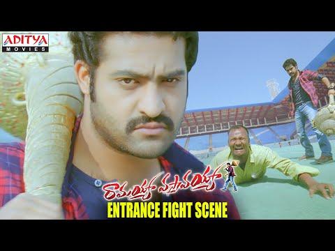 Ramayya Vasthavayya Movie - NTR Entrance Fight Scene - NTR, Samantha, Shruti Haasan