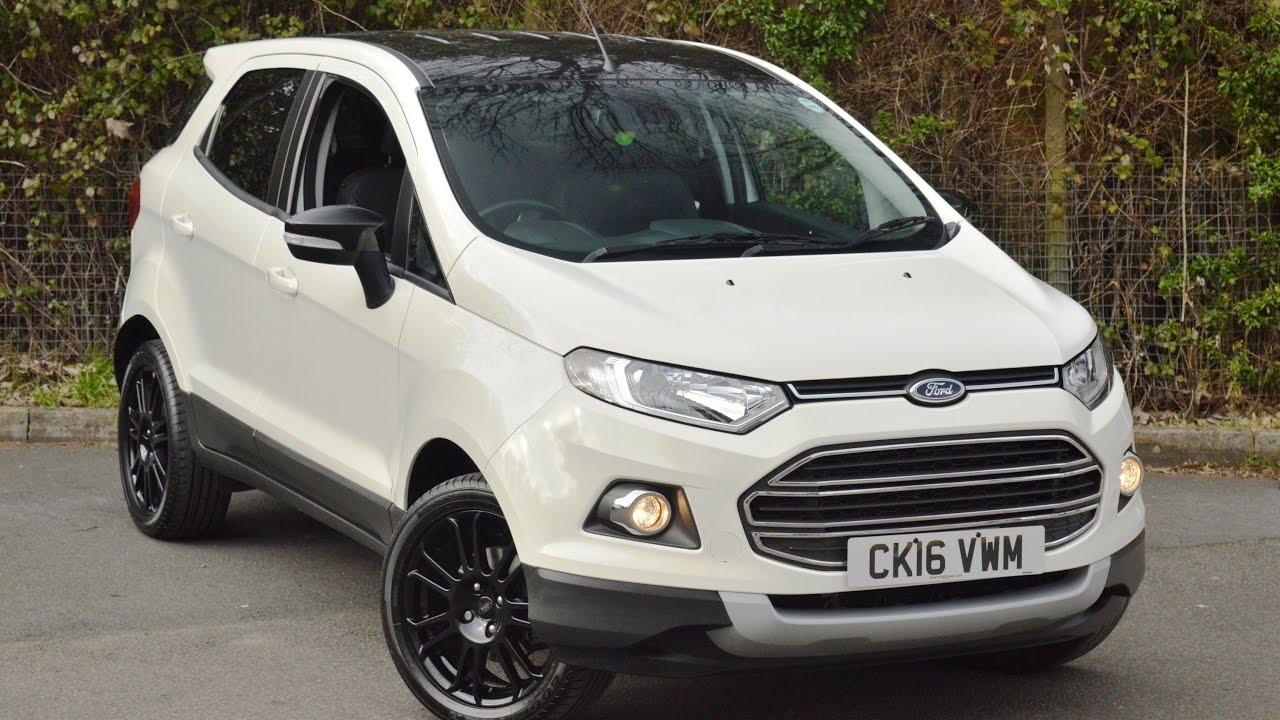 wessex garages used ford ecosport titanium s at. Black Bedroom Furniture Sets. Home Design Ideas