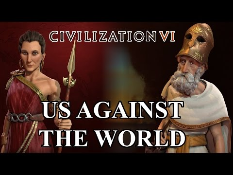 Civilization VI: Us Against the World - 01 - The United States of Greece