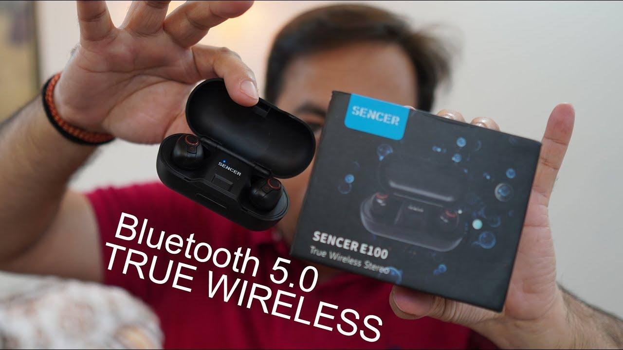 a48a2091ca0 Sencer E100 True Bluetooth 5.0 Earbuds For Rs. 2,899