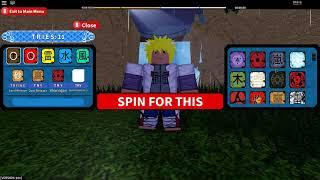 Roblox Naruto Oltre l'aggiornamento 101! Nuovo Codice! 20 giri! Il nuovo sistema di spin è rotto!