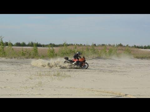 Егорьевск-Воскресенск песок KTM 990 Adventure Эндуро с пассажиром