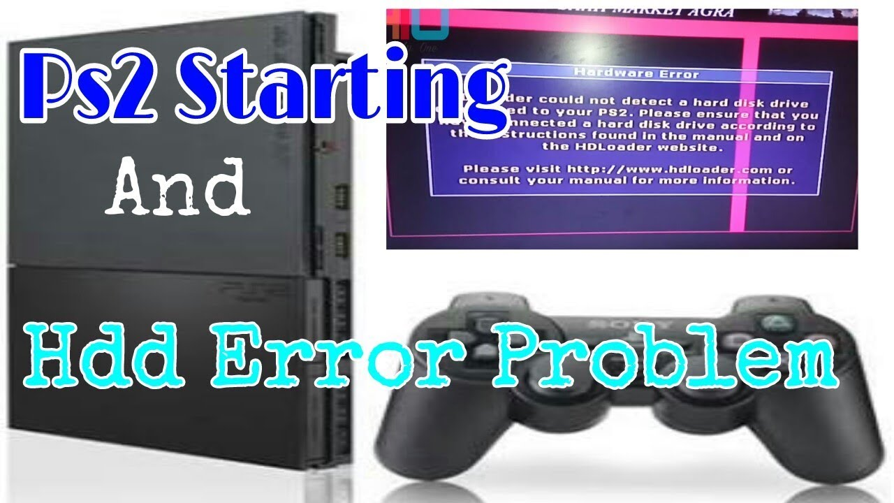 Ps2 Starting Blank And Hdd Error Problem Fix