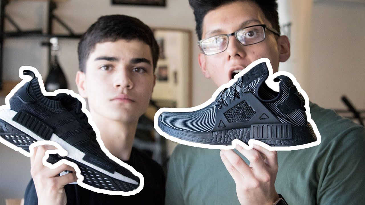 24d18e84e1814 UNBOXING ADIDAS NMD PK WOOL   XR1 EARLY! Sneaker Chefs