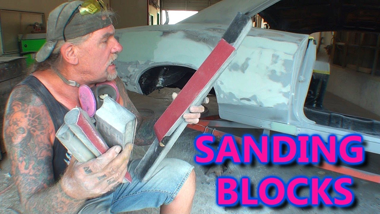 What Kind Of Block Sander Is Best To Use Bondo And Primer Sanding Youtube