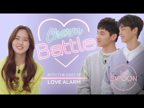 Song Kang And Jung Ga-ram Compete To Win Kim So-hyun's Heart | Love Alarm | Charm Battle[ENG SUB]