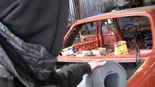 Mercedes restoration w123 видео 79 купил заднее стекло,колпаки  и шумовку, сборка после покраски(Приветствую Вас на моем канале AWTOMASTER. На нем Вы можете увидеть много полезного видео как по ремонту автомоб..., 2015-03-13T21:50:18.000Z)