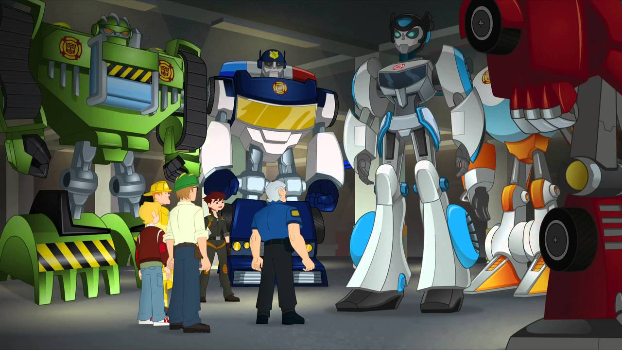 Transformers Playskool Heroes Rescue Bots Quickshadow Action