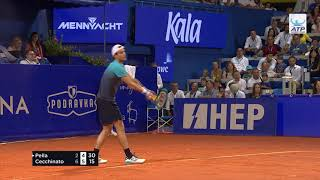 Highlights: Cecchinato Wins At Umag 2018
