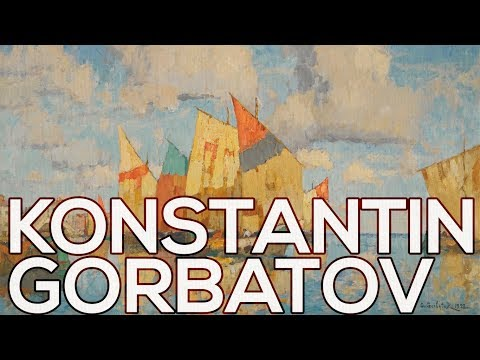 Konstantin Gorbatov: A collection of 221 paintings (HD)