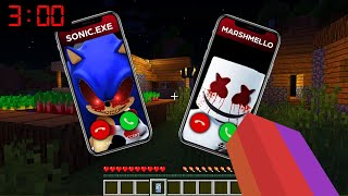 Minecraft : WHO CALLED ME AT 3AM?? (Ps3/Xbox360/PS4/XboxOne/PE/MCPE)