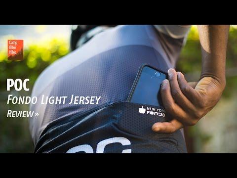 POC Fondo Light Jersey Overview. Camp Bike Hike cb03adb67