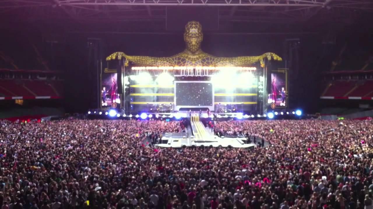 take that progress tour 2011 millennium stadium cardiff night opener rule the world