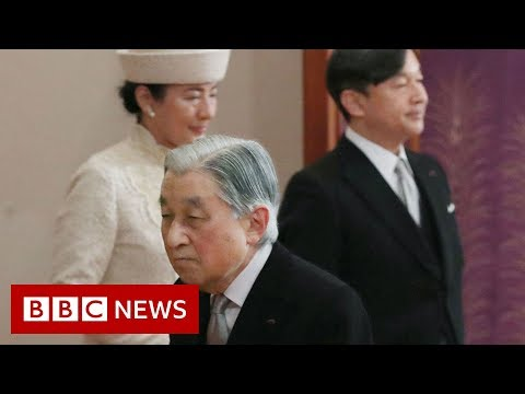 Japan's emperor abdicates the throne - BBC News