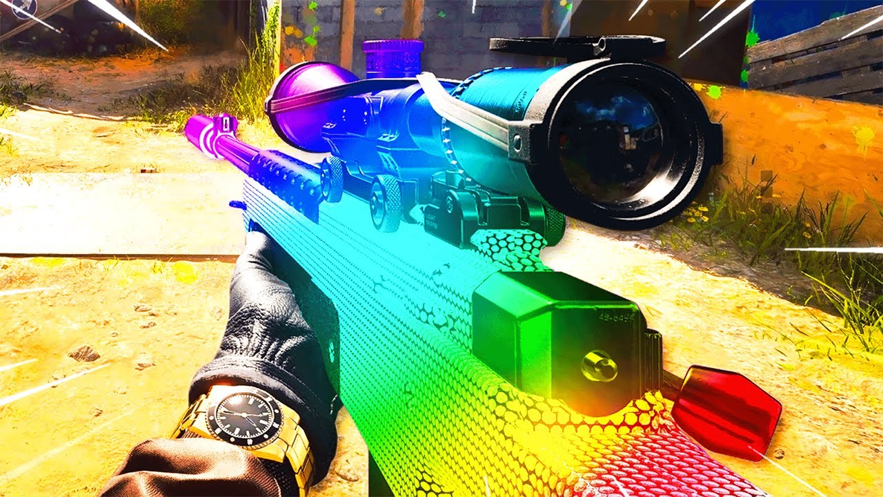 I Sniped with RAINBOW DARK MATTER.. you'll be speechless..