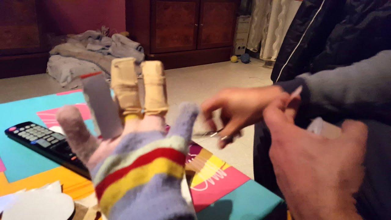Como hacer un guante - YouTube