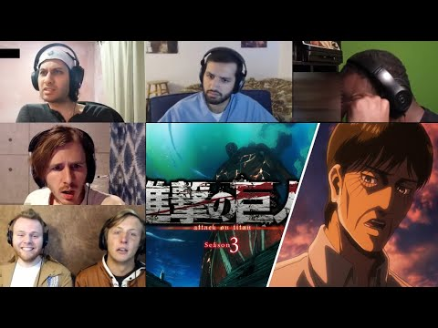 Attack On Titan :Shingeki No Kyojin Season 3 Episode 21 Reaction