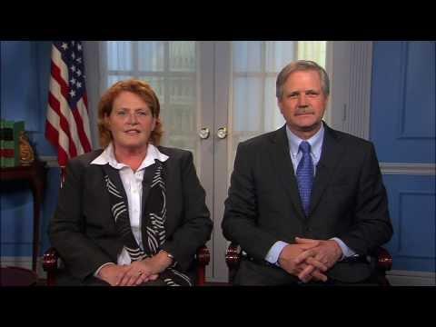 ND Senators Heitkamp and Hoeven Recite the Gettysburg Address