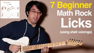 7 Beginner Math Rock Licks That Will Teach You How To Write Riffs