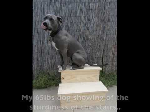 How To Make Pet Stairs (Easy And Sturdy)   YouTube
