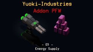 Factorio - Mod Yuoki-Industries PFW-Puzzle 05 - Take Needed Power from Profit