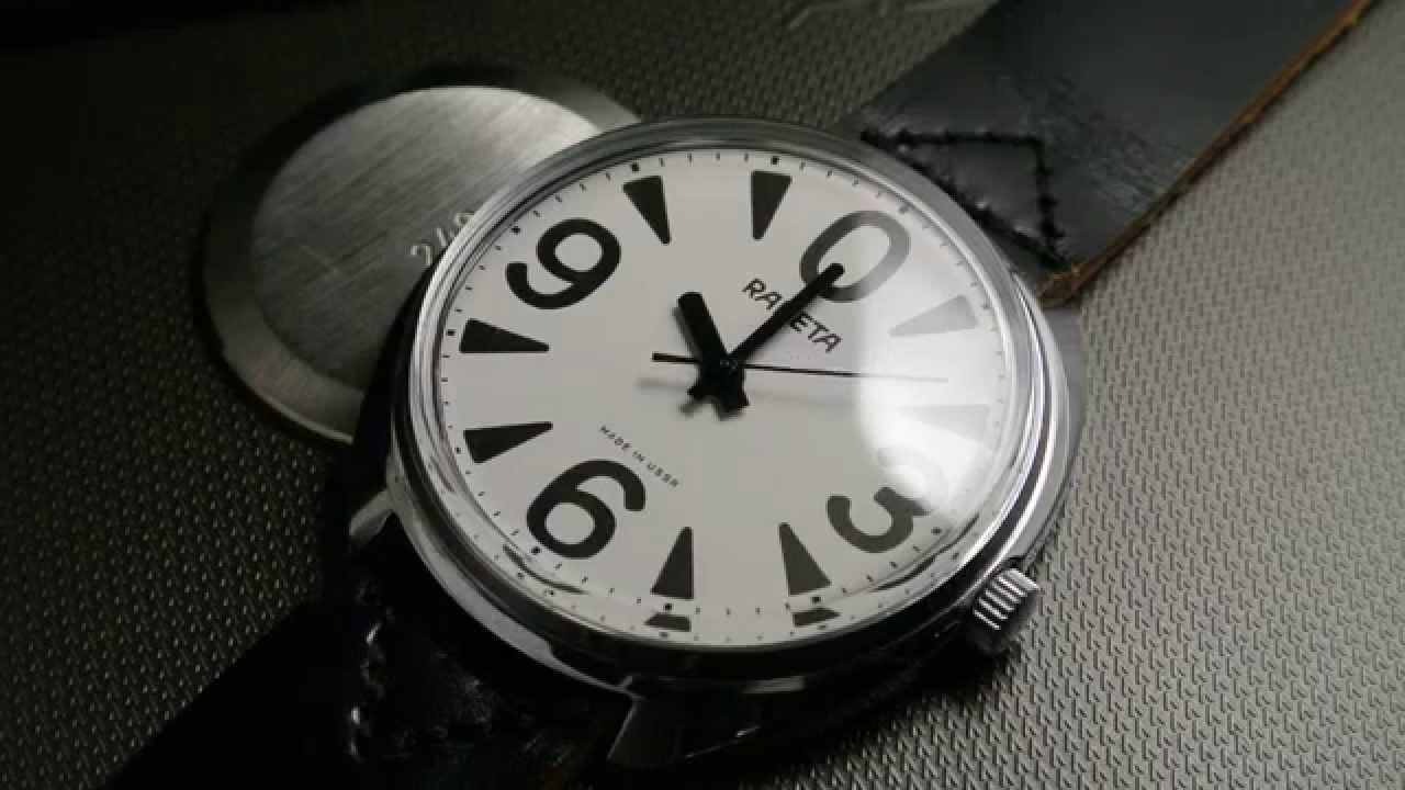 Raketa perpetual calendar watch 2628.H - how to use in 4K - YouTube