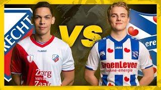 DANNY HAZEBROEK (FC UTRECHT) VS FLORIS JORNA (SC HEERENVEEN) | POULE B | SPEELRONDE 2 | XBOX