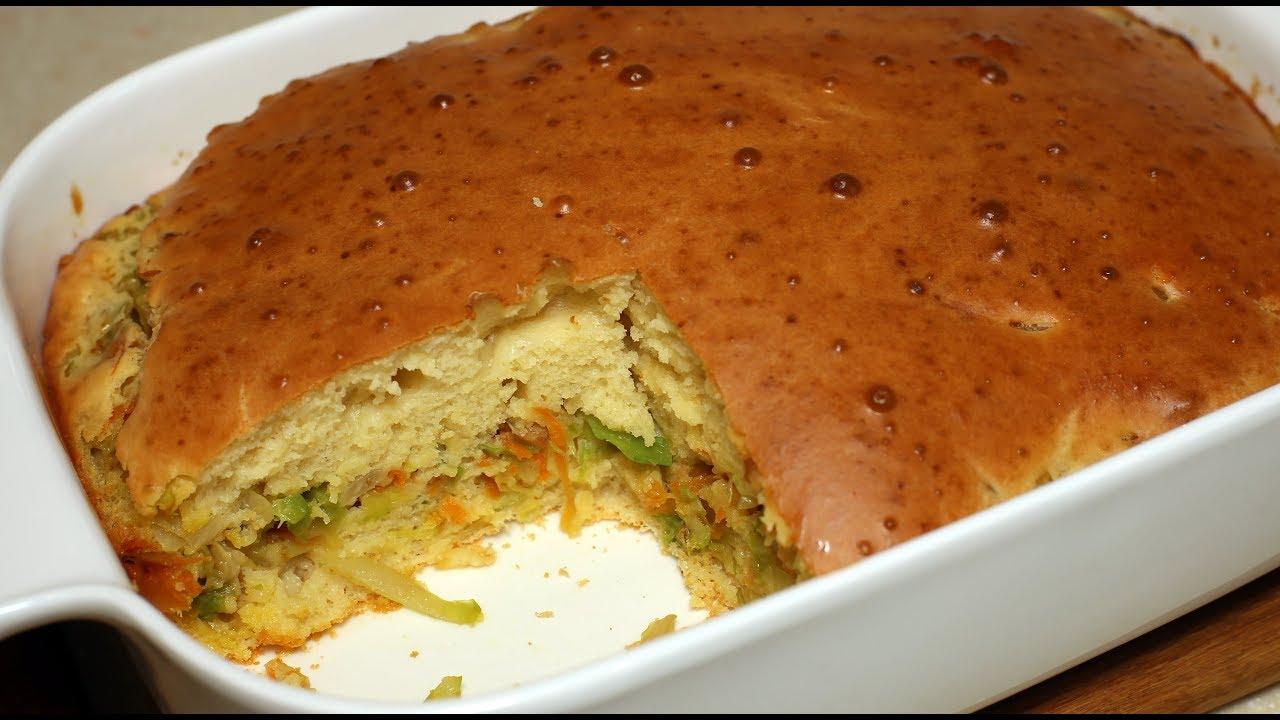 пирог с капустой селезнев