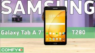 Samsung Galaxy Tab A 7.0 (2016) - отличный планшет для повседневного использования - Видео(Samsung Galaxy Tab A 7.0 T280 Black (NZKASEK) - модель планшета 2016 года выпуска от южнокорейского гиганта. Узнай цену, характери..., 2016-05-23T07:16:59.000Z)