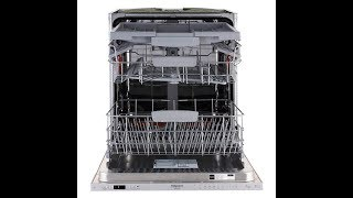 Распаковка и обзор встраиваемой посудомоечной машины  Hotpoint Ariston HIO 3C23 WF