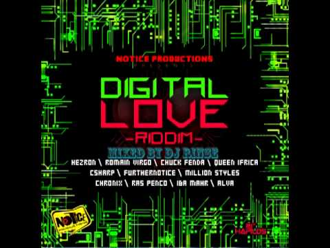 DIGITAL LOVE RIDDIM MIXED BY DJ RINSE -- NOTICE PRODUCTIONS -- 2012