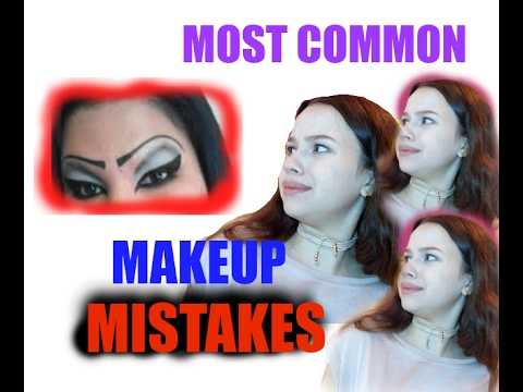 THE WORST MAKEUP MISTAKES AND HOW TO FIX THEM!! | Valeria's Makeup