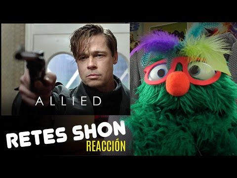 Retes Allied Official Trailer (2016) 2 - Paramount Reacción!! Subtitulado
