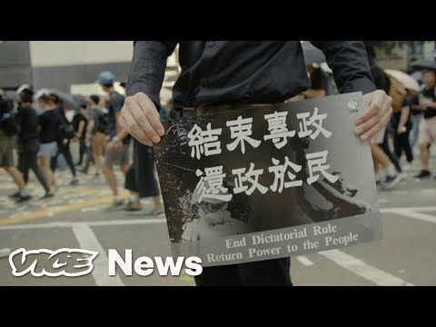 Hong Kong Protesters Tried To Sabotage China's 70th Birthday Party. Police Shot One of Them.