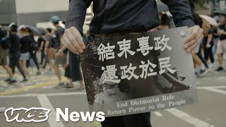 Hong Kong Police Shot an 18-Year-Old in the Chest on China's National Day