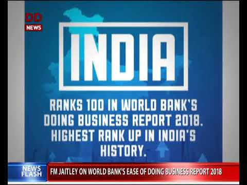 World Bank releases Ease of Doing Business Report 2018