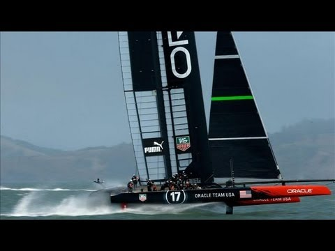 Saltwater Flying Machines | America's Cup Yacht Race
