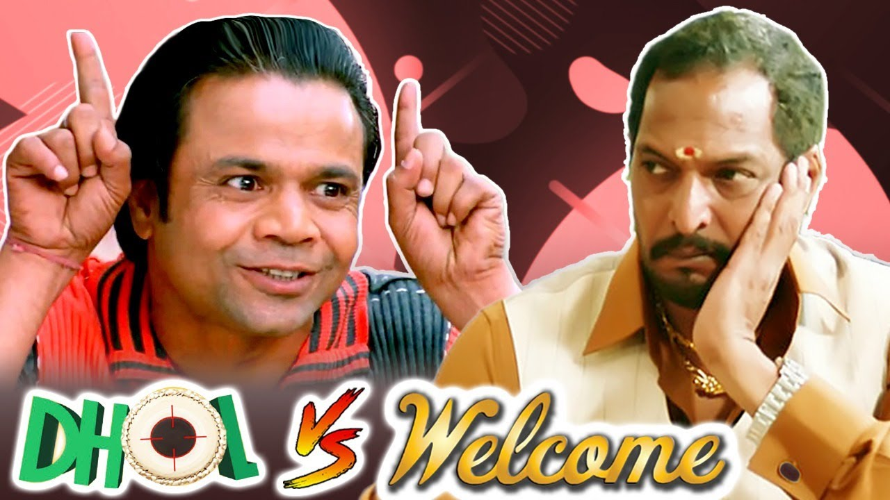 Welcome V/S Dhol | Best Comedy Scenes | Rajpal Yadav - Akshay Kumar   Paresh Rawal - Nana Patekar