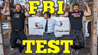 Can Buff Dudes Survive the FBI Fitness Test Challenge?