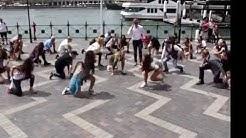 Crazy Uptown Funk flashmob in Sydney