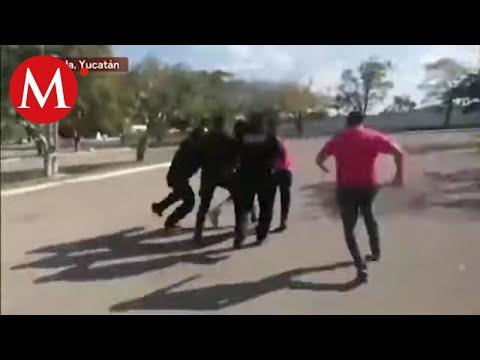 Asamblea en Mérida de asociación que busca ser partido termina en pelea