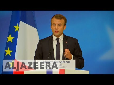 French president Macron calls for post-Brexit EU reforms
