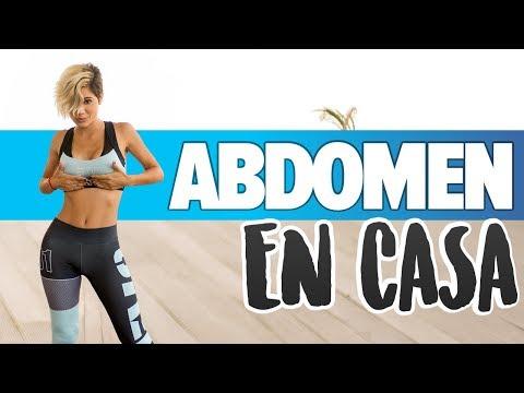 ABDOMINALES: Rutina principiantes aplanar abdomen | Flat Stomach Workout