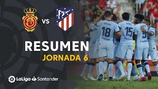 Resumen de RCD Mallorca vs Atlético de Madrid (0-2)